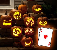 Beware the scariest Halloween hands in blackjack